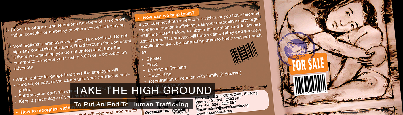 Our fight against human trafficking