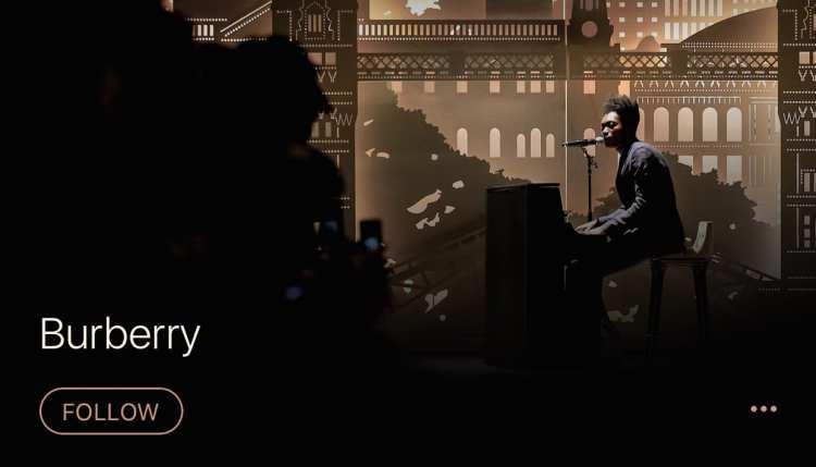 Burberry primera marca de moda en abrir un canal de música en Apple Music con playlists que transmiten su lifestyle