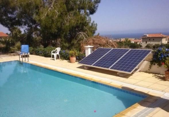 Kit solar fotovoltaico para depuradora de piscinas