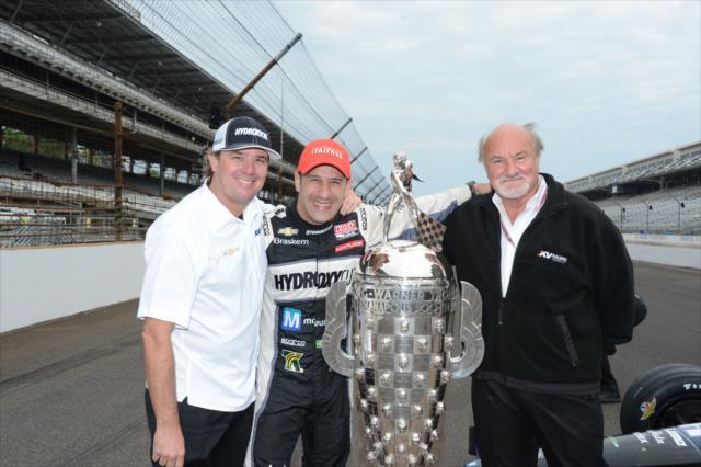 Kanaan ganó la Indy 500 de 2013 con KV (FOTO: Jim Haines/INDYCAR)