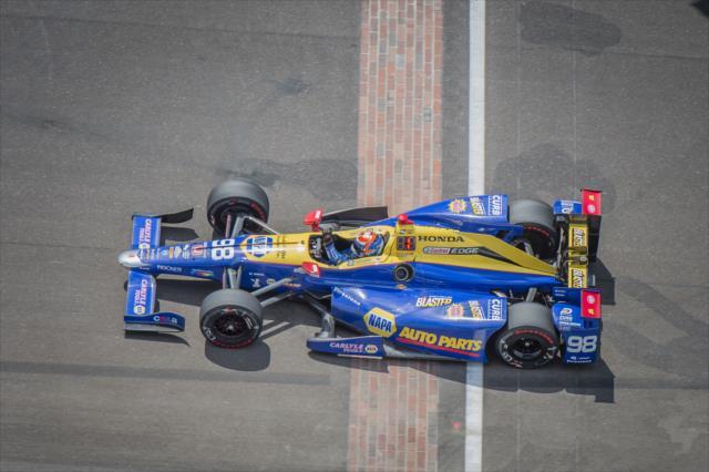 Rossi es el ganador defensor del evento (FOTO: Forrest Mellot/INDYCAR)