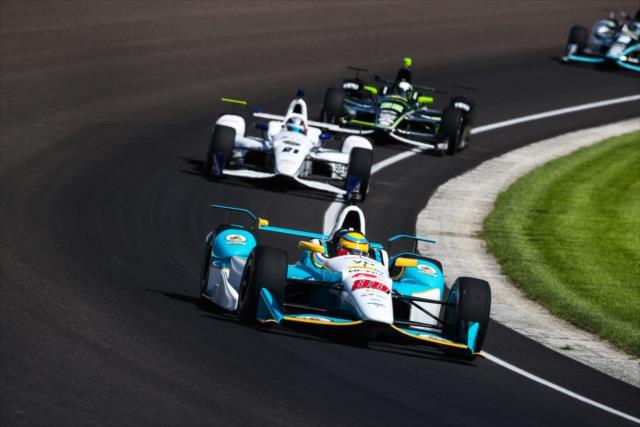 Agradable sorpresa de Chaves y el debutante Harding Racing (FOTO: David Yowe/INDYCAR)