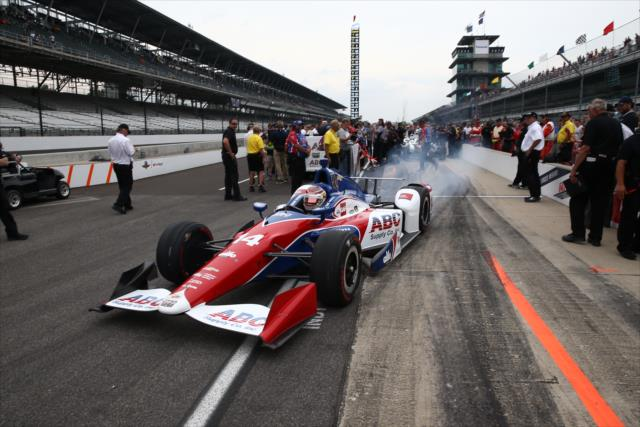 Muñoz (FOTO: Chris Jones/INDYCAR)