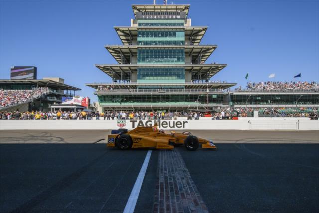Alonso debutará en el quinto puesto (FOTO: Forrest Mellott/INDYCAR)
