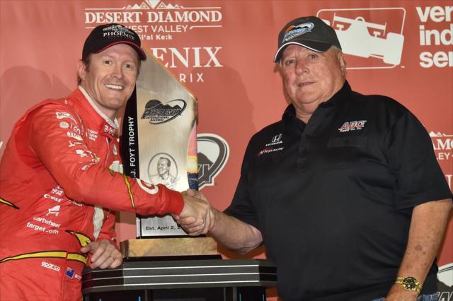 Previo a Sonoma, Dixon y Foyt totalizan 108 victorias en el automovilismo de fórmulas en Estados Unidos (FOTO: Chris Owens/INDYCAR)