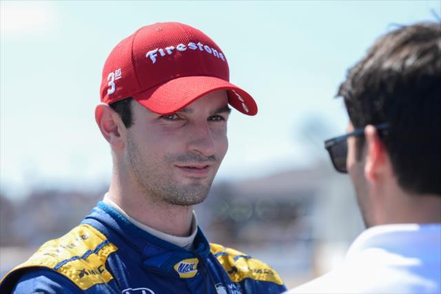 Rossi salvó el podium (FOTO: James Black/IMS, LLC Photo)