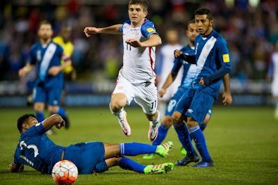 The US Men's National team defeated Guatemala 4 - 0 on March 29, 2016 at MAPFRE stadium in Columbus, Ohio.