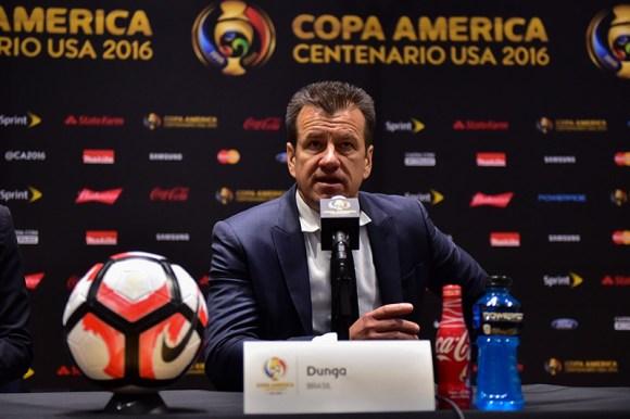 Foxborough, MA - Sunday June 12, 2016: during a Copa America Centenario Group B match between Brazil (BRA) vs Peru (PER) at Gillette Stadium.