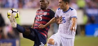 The USMNT soars to a 2-0 victory over El Salvador in the Quarter-finals