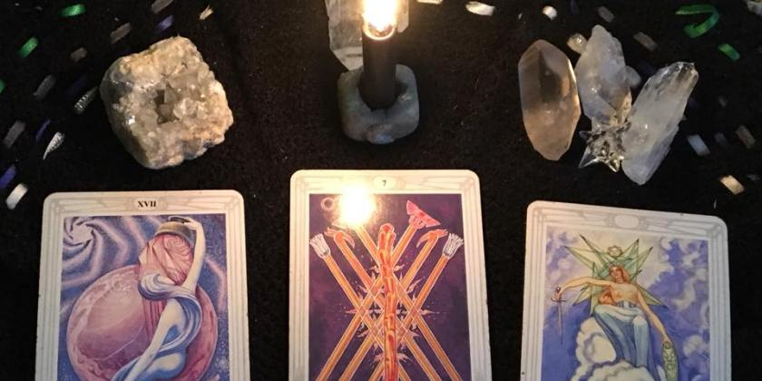 A Sword in One Hand, A Severed Head in the Other: The Goddess Has Returned ~ Tarot for 16 January 2018