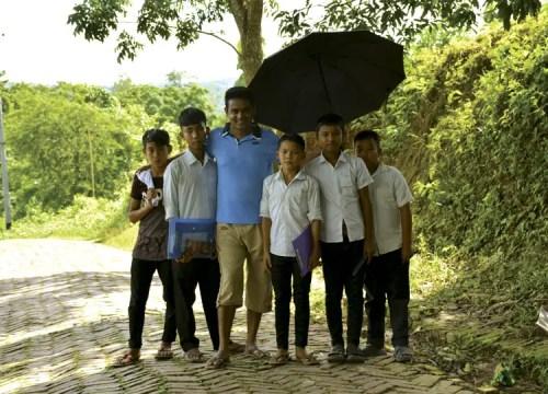 tribal school boys