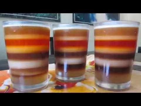 Seven color tea in Sreemongal