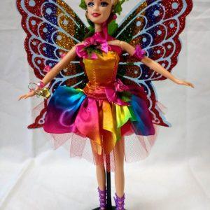 Boneca Fada Estrela do Arco Iris Real