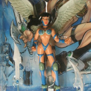 Cyber Angel Mercy Action Figure Rendition