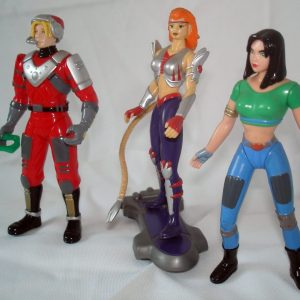 Flash Gordon Action Figure Set Mattel