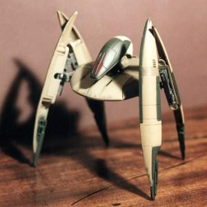 Star Wars Trade Federation Droid Fighter Action Fleet Galoob