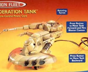 Star Wars Trade Federation Tank Eletrônico Action Fleet