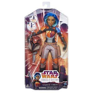 Star Wars Force of Desteny Sabine Wren Boneca Hasbro
