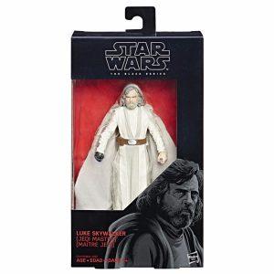Star Wars Last Jedi Luke Skywalker Action Figure Black Series Hasbro