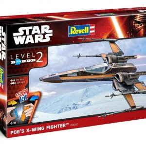 Star Wars Poe Dameron T-70 X-Wing Model Kit Revell