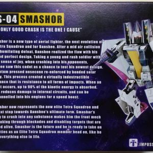 Transformers Smashor Action Figure Impossible Toys