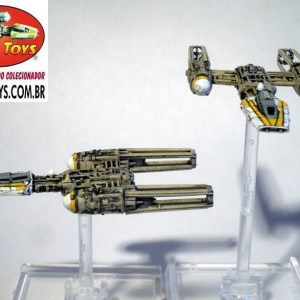 Star Wars Y-Wing Fighter de X-Wing Jogo de Miniaturas