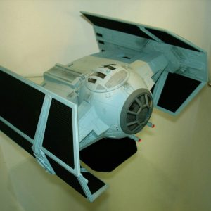 Star Wars Darth Vader Tie Fighter 1/24 Model Code-3 Replicas