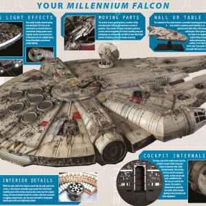 Star Wars Millenium Falcon 1/43 Super Studio Model D'Agostini