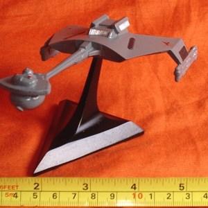 Star Trek klingon Cruiser Classic Resin Model