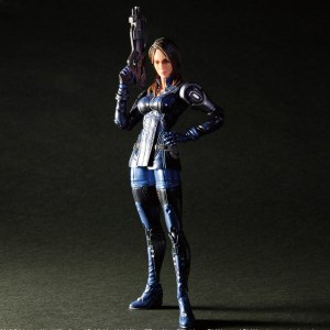 Mass Effect Ashley Williams Action Figure Play Arts