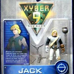 Xyber-9 Jack Action Figure Bandai