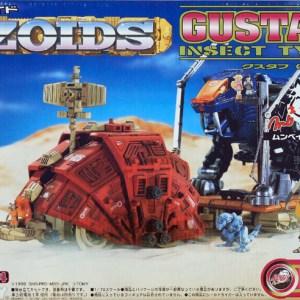 ZOIDS Gustav Super Carrier Model Kit Tomy