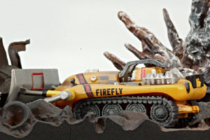 Thunderbirds Firefly diorama Konami