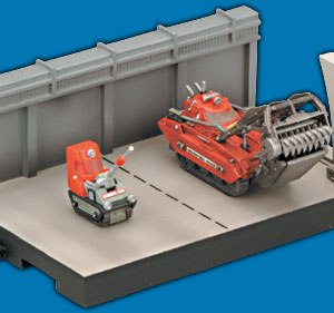 Thunderbirds Escavator hanger Konami
