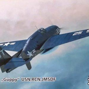 """TBM-3W """"GUPPY"""" (USA, JAPÃO, CANADA) 1/72 Sword"""