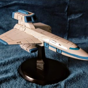 Galaxy Rangers Ranger-1 Resin Model