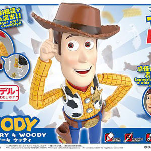 Toy Story Woody Action Figure Kit Bandai