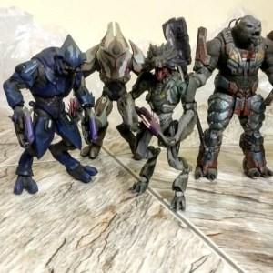 HALO Reach Covenant Set-1 Mc Farlane Toys