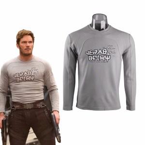 Guardiões da Galaxia – Star Lord Cosplay Jaqueta e Camiseta