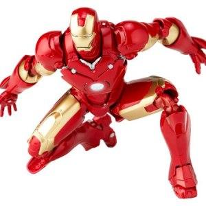 Marvel Iron Man Homem de Ferro MK-III Midas Revoltech Kayodo