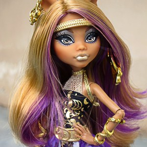 Boneca Monster High Clawdeen Wolf 13 Wishes Assinada
