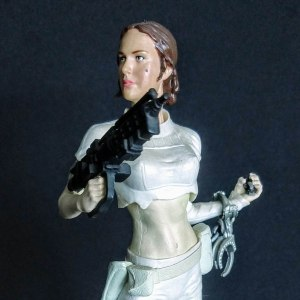Star Wars Padme Amidala Unleashed Statue Hasbro