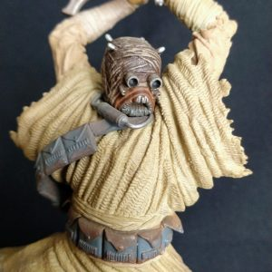 Star Wars Tusken Raider Unleashed Statue  Hasbro