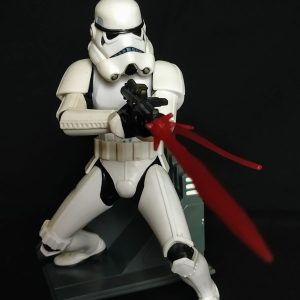 Star Wars Stormtrooper Unleashed Statue  Hasbro