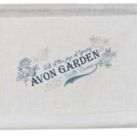 Raffgardine Avon Garden 120×100