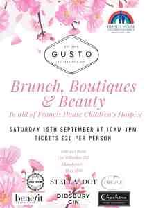 Brunch, Boutiques & Beauty