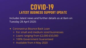 Coronavirus Business Bounce Back Loan
