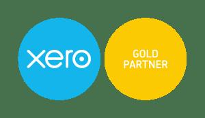 in accountancy gold partner badge