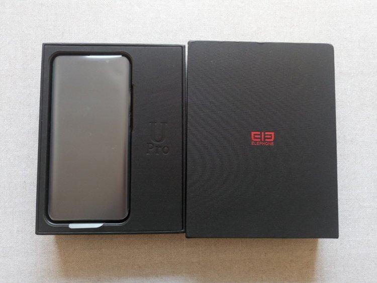 Elephone U Pro化粧箱梱包