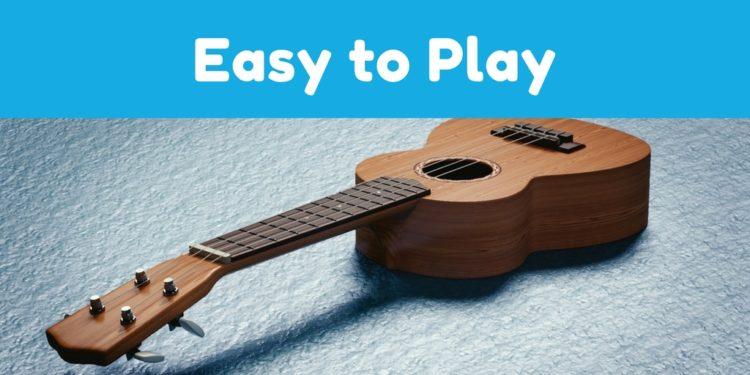 ウクレレは簡単に弾ける